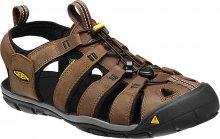 KEEN Pánské sandále Clearwater CNX 1013106 Dark Earth/Black 42