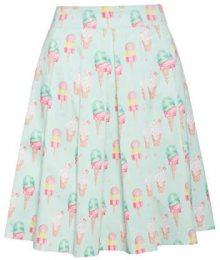 Smashed Lemon Dámská sukně Mint/Pink 19179 XS