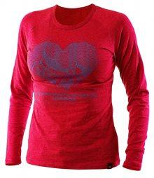 Northfinder Dámské triko Bibiana Magenta TR4256SNW-1581 L