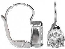 Brilio Silver Stříbrné náušnice s krystaly Swarovski 436 001 00302 04 - 1,59 g