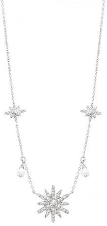Morellato Stříbrný náhrdelník se sněhovými vločkami Pura SAHR01