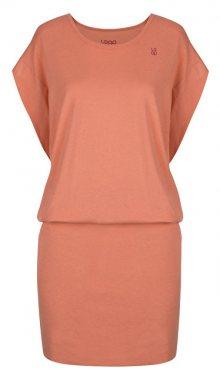LOAP Dámské šaty Asita Dessert Flower Pink CLW1972-E36J S