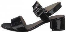 Tamaris Dámské sandále 1-1-28211-22-018 Black Patent 37