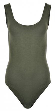 Vero Moda Dámské body Rie S/L Bodysuit FD18 Ivy Green XS