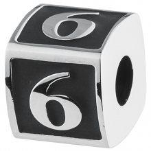 Brosway Ocelový přívěsek Numbers 6 TJ Man BTJN75