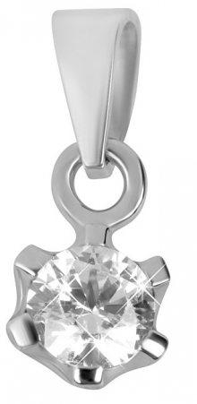Brilio Zlatý přívěsek s krystalem 246 001 00359 07 - 0,35 g