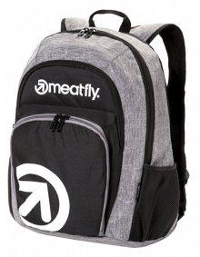Meatfly Vault 2 Backpack A Black, Heather Grey