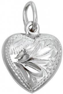 Brilio Silver Stříbrný přívěsek Srdce 441 001 00029 04 - 0,96 g