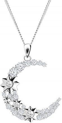 Preciosa Stříbrný náhrdelník Měsíc Orion 5248 00 (řetízek, přívěsek)