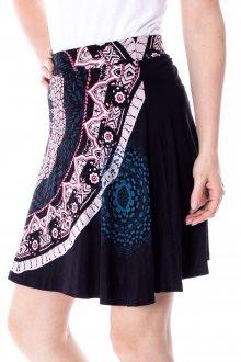 Desigual černá sukně Fal Nise - S
