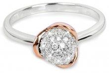 Silver Cat Stříbrný pozlacený prsten se zirkony SC183 54 mm