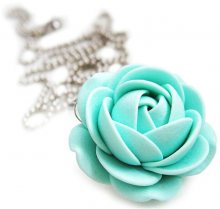 Troli Mentolový náhrdelník kytička