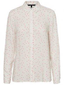 Vero Moda Dámská košile Maya Effie LS Shirt Wvn Snow White XS