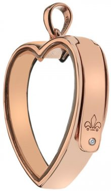 Hot Diamonds Přívěsek na elementy Anais Srdce s diamantem EX010