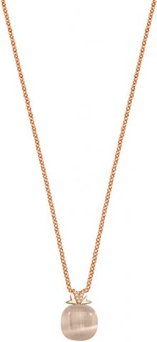 Morellato Růžově zlacený náhrdelník Gemma SAKK77