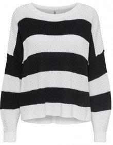 ONLY Dámský svetr Campos L/S Oversize Pullover Knt Black M