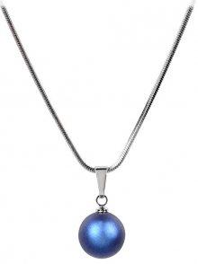Troli Náhrdelník Pearl Iridescent Dark Blue
