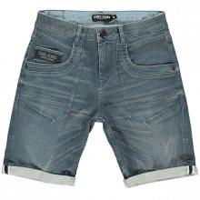 Cars Jeans Pánské kraťasy Stocker Short Grey Blue 4582771 M