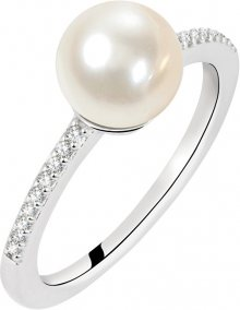 Morellato Stříbrný prsten s perlou Perla SANH070 56 mm