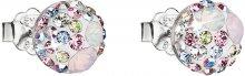 Evolution Group Něžné náušnice krystaly Magic Rose 31136.3
