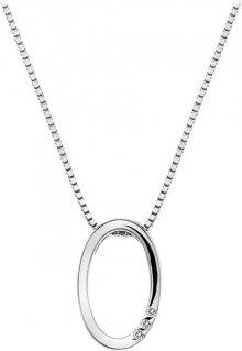 Hot Diamonds Náhrdelník Halo Oval DP572 (řetízek, přívěsek)