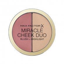 Max Factor Tvářenka a rozjasňovač Miracle Cheek Duo (Blush & Highlight) 11 g 20 Brown Peach & Champagne