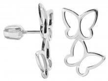 Brilio Silver Stříbrné náušnice Motýlci 431 001 02708 04 - 2,10 g