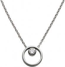 Skagen Dámský ocelový náhrdelník s krystalem SKJ0833040