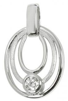 Silver Cat Stříbrný přívěsek se zirkonem SC210