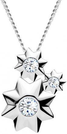 Preciosa Hvězdičkový  stříbrný náhrdelník Orion 5245 00 (řetízek, přívěsek)