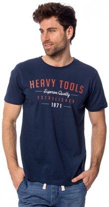Heavy Tools Pánské triko Monument S19-204 Moonlight M
