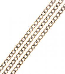 Brilio Náhrdelník z bílého a žlutého zlata 55 cm 271 115 00225 - 9,30 g