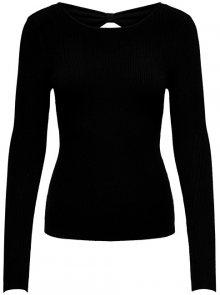 ONLY Dámský svetr Nella L/S Pullover Knt Black S