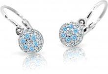 Cutie Jewellery Dětské náušnice C2150-10-X-2 světle modrá
