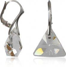 MHM Náušnice Triangle Crystal Ag 32198