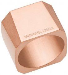 Michael Kors Masivní ocelový prsten MKJ5833791 56 mm