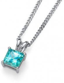Oliver Weber Stříbrný náhrdelník s krystalem Catch 61142 MIN