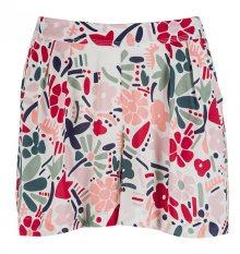 Tommy Hilfiger Dámské pyžamové kraťasy Woven Short Abstract Flower Print UW0UW00682-614 S