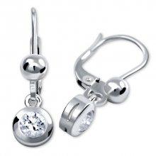 Brilio Silver Stříbrné náušnice s krystaly 436 001 00328 04 - 1,76 g