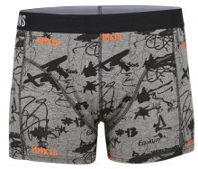 ONLY&SONS Pánské boxerky Ness trunk 1-Pack noos Light Grey Melange S