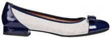 GEOX Dámské baleríny Wistrey D White/Cobalt D924GD-05402-C1Z4H 37