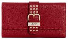 Guess Dámská peněženka Eileen Studded Multi Clutch Crimson