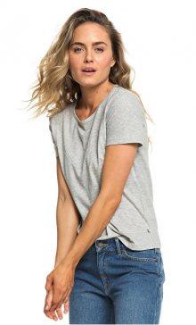 Roxy Dámské triko Red Sunset SS B Heritage Heather ERJZT04513-SGRH S