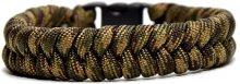 CordellParacord náramek Fishtail Zelený PC0018