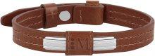 Morellato Stylový kožený náramek Moody AMY06