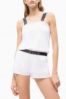 Calvin Klein bílý overal Romper PVH White - XS