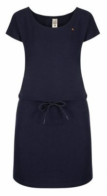 LOAP Dámské šaty Ninie Night Sky Blue CLW1992-M94M XS