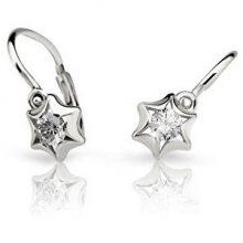 Cutie Jewellery Dětské náušnice C2159-10-2 červená