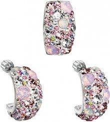 Evolution Group Romantická sada šperků Magic Rose 39116.3 (náušnice, přívěsek)