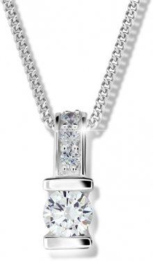 Modesi Stříbrný náhrdelník pro ženy M41094 (řetízek, přívěsek)